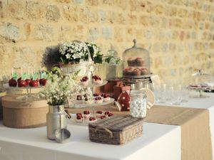 Le  buffet de gourmandise ou «sweet table» par Sabrina de Cyane Event design  les gourmandise de Cook'ease à Boulogne /mer et de Sweet cake à Saint Omer .