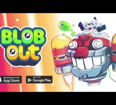 Blobout will take players on a vertical platform game adventure