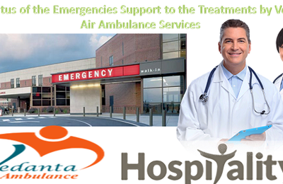 Apparatus of the Emergencies Support to the Treatments by Vedanta Air Ambulance in Mumbai