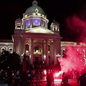 Serbia scraps virus curfew plan after protests