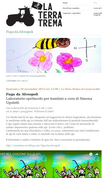 Fanzine- Libretto colora e impara sulle API (con laboratori e canzoni)