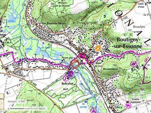 L' Essonne de Boutigny/E à la Ferté Alais - 10km