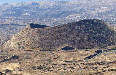 Terrasses anti-érosives et terrasses culturales au Cap-Vert