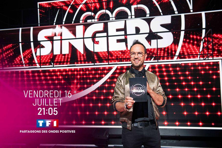 """L'émission """"Good Singers"""" présentée par Jarry de retour ce soir sur TF1"""