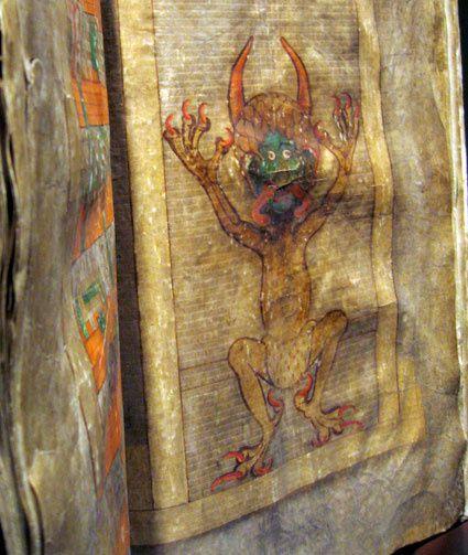 """le Codex Gigas : un livre énorme que l'on appelle aussi la """"Bible du diable"""" (Docu) [VO]"""