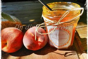 Confiture pêches, abricots & vanille