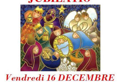 Metz Queuleu Eglise Immaculée Conception concert de la chorale Jubilatio le vendredi 16 décembre 2016