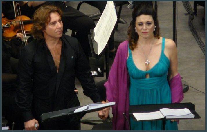 Roberto Alagna (Ulysse) et Anna Caterina Antonacci (Pénélope)