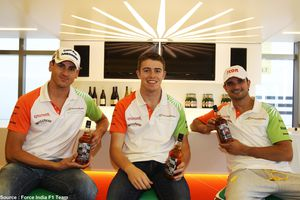 Whyte & Mackay crée un whisky au nom des pilotes Force India