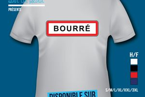 T-shirt: France - Centre - Humour - Bourré​.