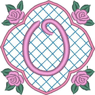 ABC aux 4 roses: la lettre O