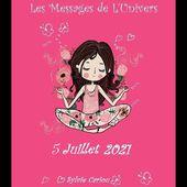 MESSAGE DE L'UNIVERS  DU 5 JUILLET 2021 LE LIVRE NOUS ANNONCE UN NOUVEAU CHAPITRE DE NOTRE VIE