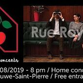 videos Rue Royale (UK/US) @ Home concerts Soirées Cerises / Woluwé - 01/08/2019 - YouTube