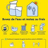 PLAN CANICULE à Orléans: principales mesures visant à protéger tous les publics - VIVRE AUTREMENT VOS LOISIRS avec Clodelle