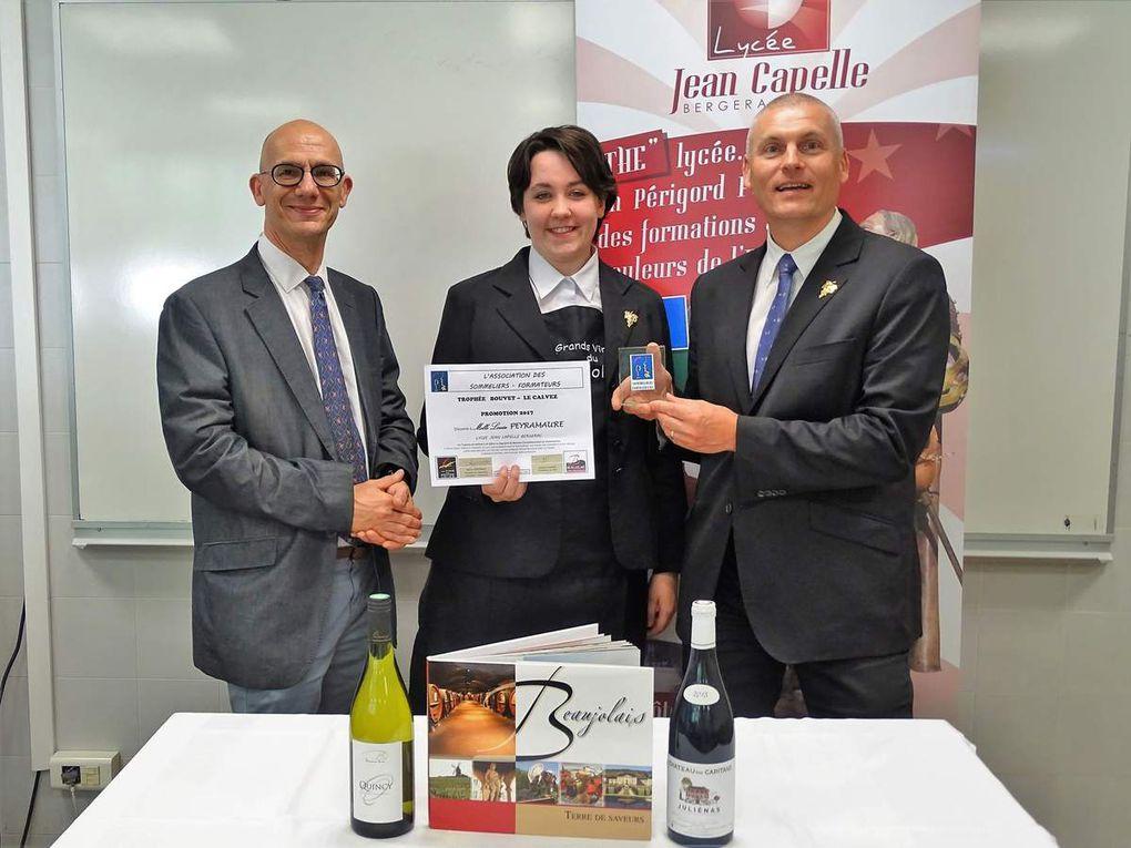 Sommellerie : les lauréats du Trophée Bouvet - Le Calvez sont...