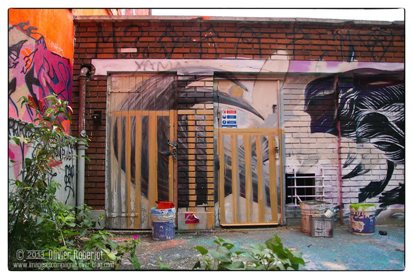 Juste des photos de graf, tags, de l'art de la rue en résumé.