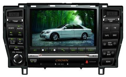 cheapest 3d tv   Best price Piennoer Original Fit (2007-2009) Toyota Majesta 6-8 Inch Touchscreen Double-DIN Car DVD Player  &  In Dash Navigation System,Navigator,Built-In Bluetooth,Radio with RDS,Analog TV, AUX & USB, iPhone/iPod Controls,steering wheel control, rear view camera input