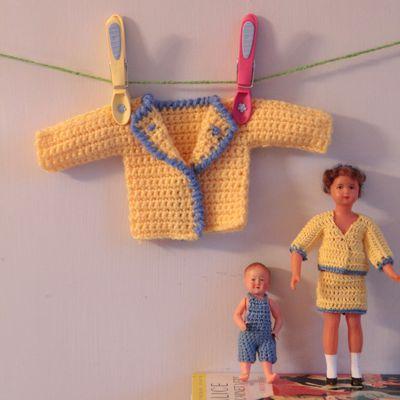 Concours Serial crochet n°14: les habits de Poupinette