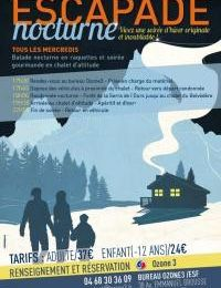 Font romeu, escapade nocturne 2014