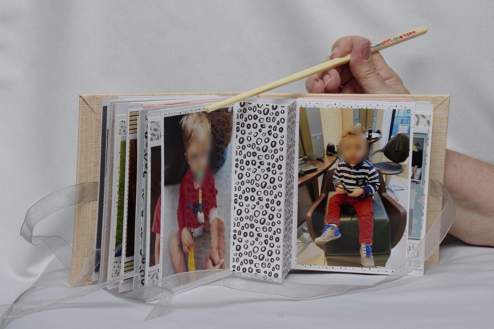 Album pour les parents de notre grand Mattéo