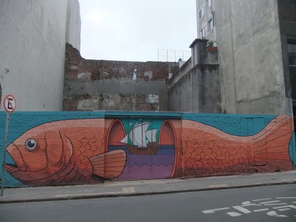 Les murs de Montevideo
