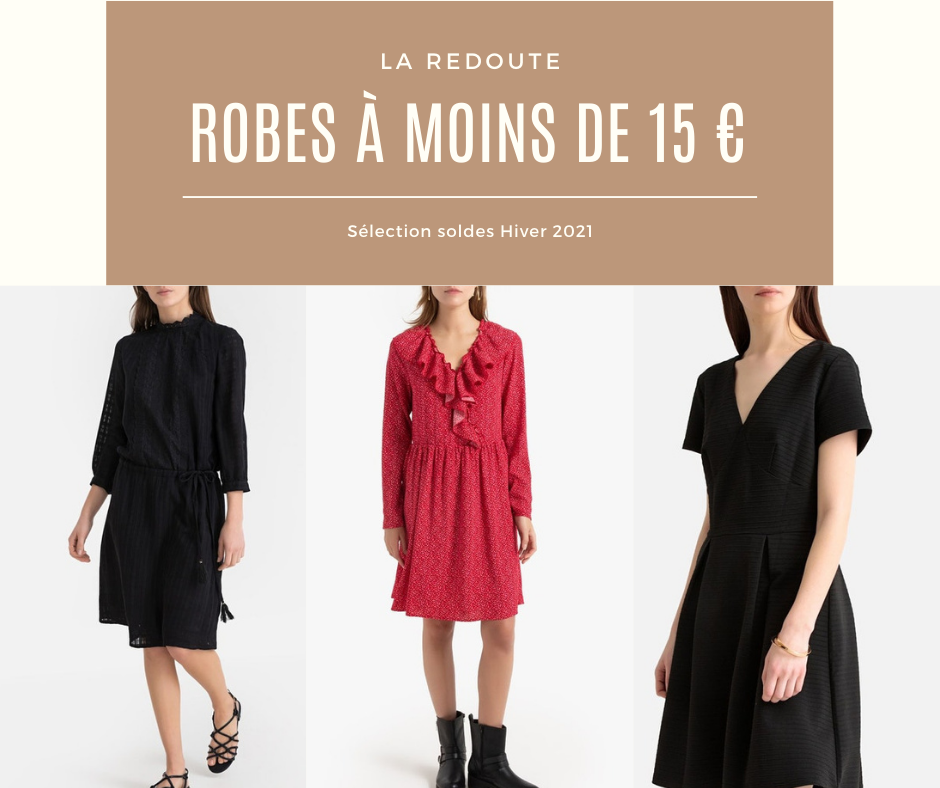 robes soldes hiver 2021 La redoute