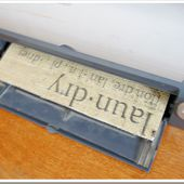 Burlap Laundry Sign...How to! - Domestically Speaking