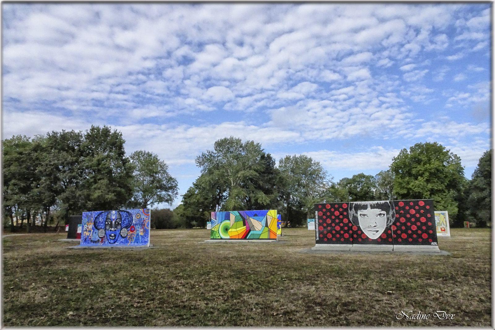 Parcours de Street-Art au parc du Gué-de-Maulny - 2020