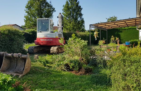 Mon jardin de fille :  Les gros travaux !! suite
