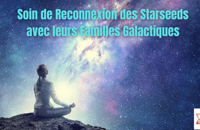 Soin de Reconnexion des Starseed à leurs Familles Galactiques