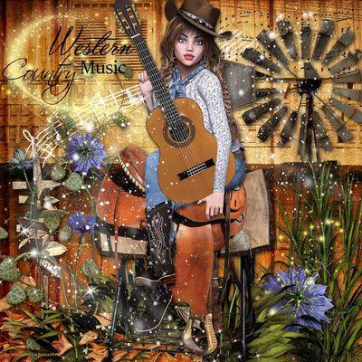 Country Music en scrap digital