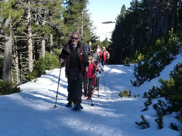 Séjour neige Beille Mars 2020 2e jour
