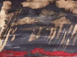 Espaces, champs de bataille, explosions...encre...2014