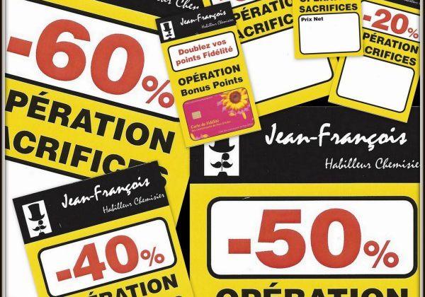 LES SOLDES D'ETE 2013 - OPERATION SACRIFICES chez JEAN-FRANCOIS