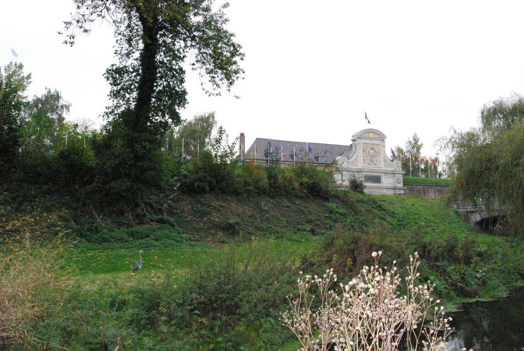 La citadelle de Lille est un ouvrage militaire bâti au 17ème siècle. Baptisée par Vauban lui-même la «Reine des citadelles» Photos: Emmanuel CRIVAT (2008)