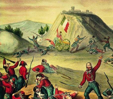 Les chemises Rouges de Garibaldi ont combattu dans les Ardennes