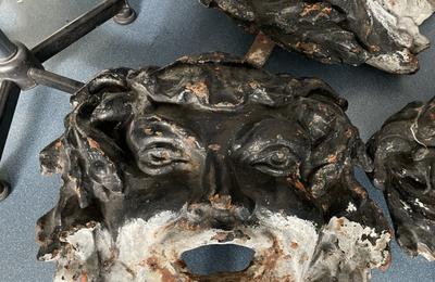 Fontaines de la porte de la Chapelle : la folle odyssée des mascarons de bronze