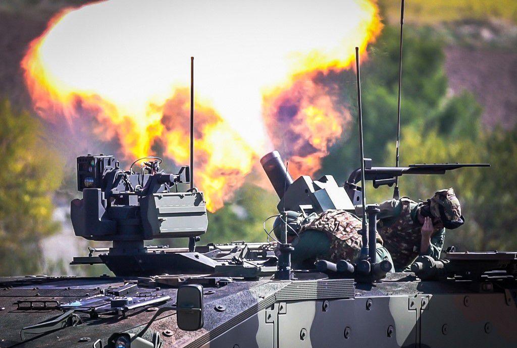 """Lecce:i militari della Brigata""""Pinerolo""""portano a termine fase finale esercitazione""""Steel Storm"""""""