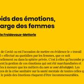 Le poids des émotions, la charge des femmes | AOC media - Analyse Opinion Critique