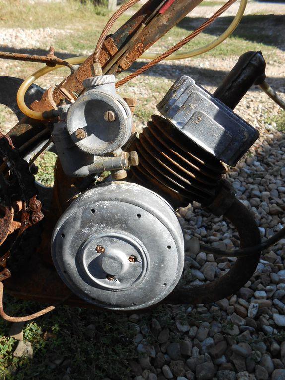 Simco GL1 du  Année : vers 1955 N° moteur : 51..... N° cadre :  Carburateur : Zenith 12 M3