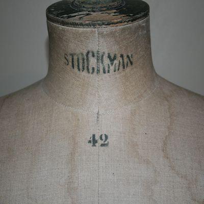 Mannequin stockman 42 vintage
