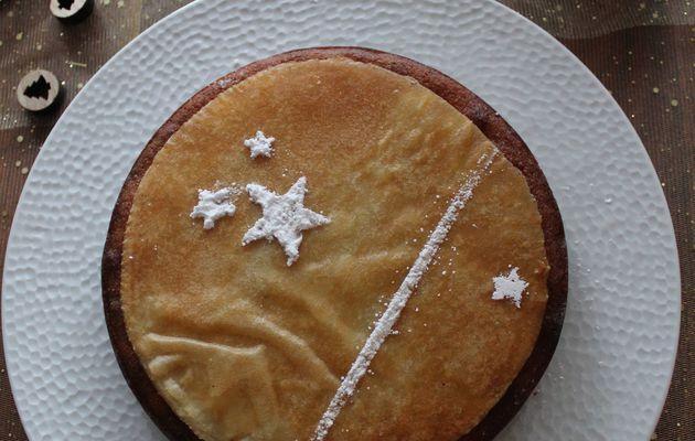 Cake façon galette des rois, poires & chocolat (Christophe Michalak)