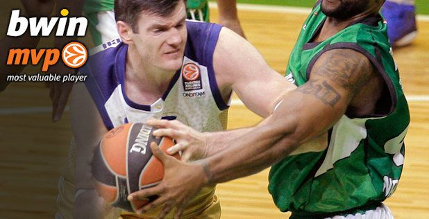 Darjus Lavrinovic named MVP of the week