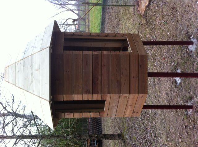 2:Nouveau petit pigeonnier en construction.
