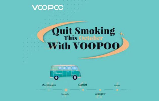 En octobre, arrêtez de fumer avec Voopoo