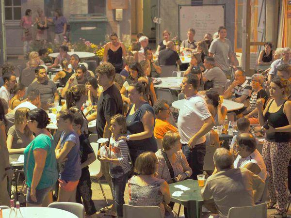 Quelques instants du 1er marchés de nuit par Daniel Bonhoure