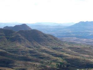 Dans la montagne du Lesotho (2)