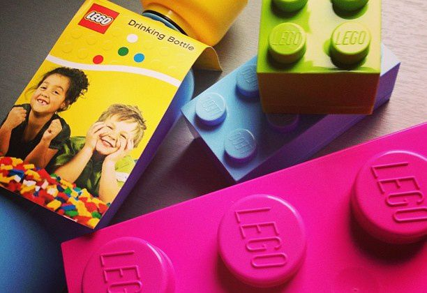 Fan de Lego jusqu'à la boîte à goûter ! {Lunch Box}