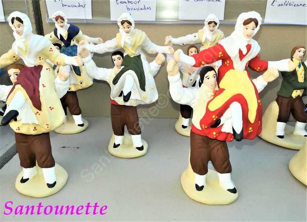Les santons Codou Rosell: un vent de fraîcheur souffle sur l'art santonnier