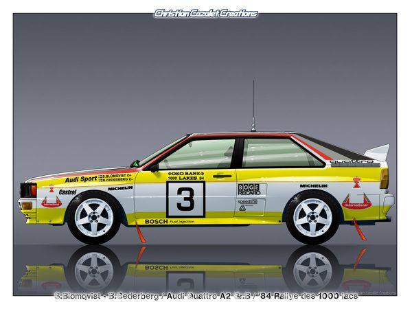 Profils Rallycars AUDI
